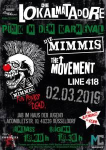 flyer karneval 2019